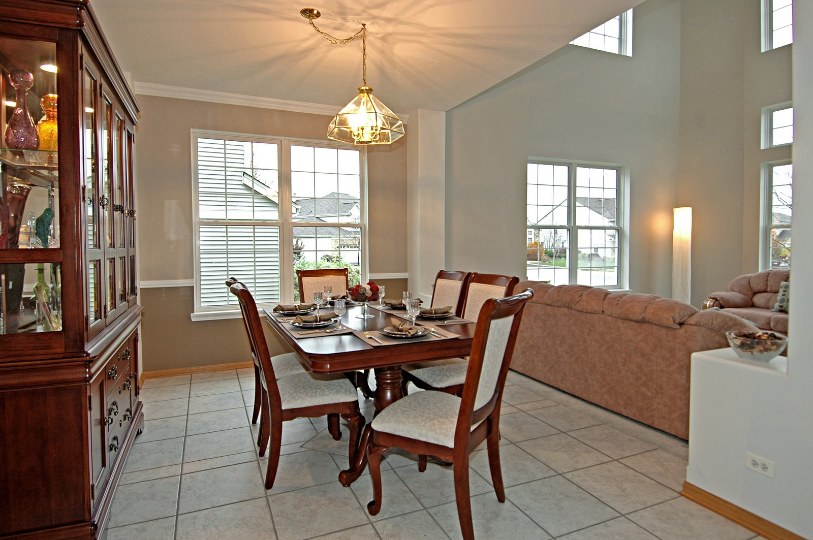 Real Estate Photography - 10943 Concord, Huntley, IL, 60142 - Dining Room