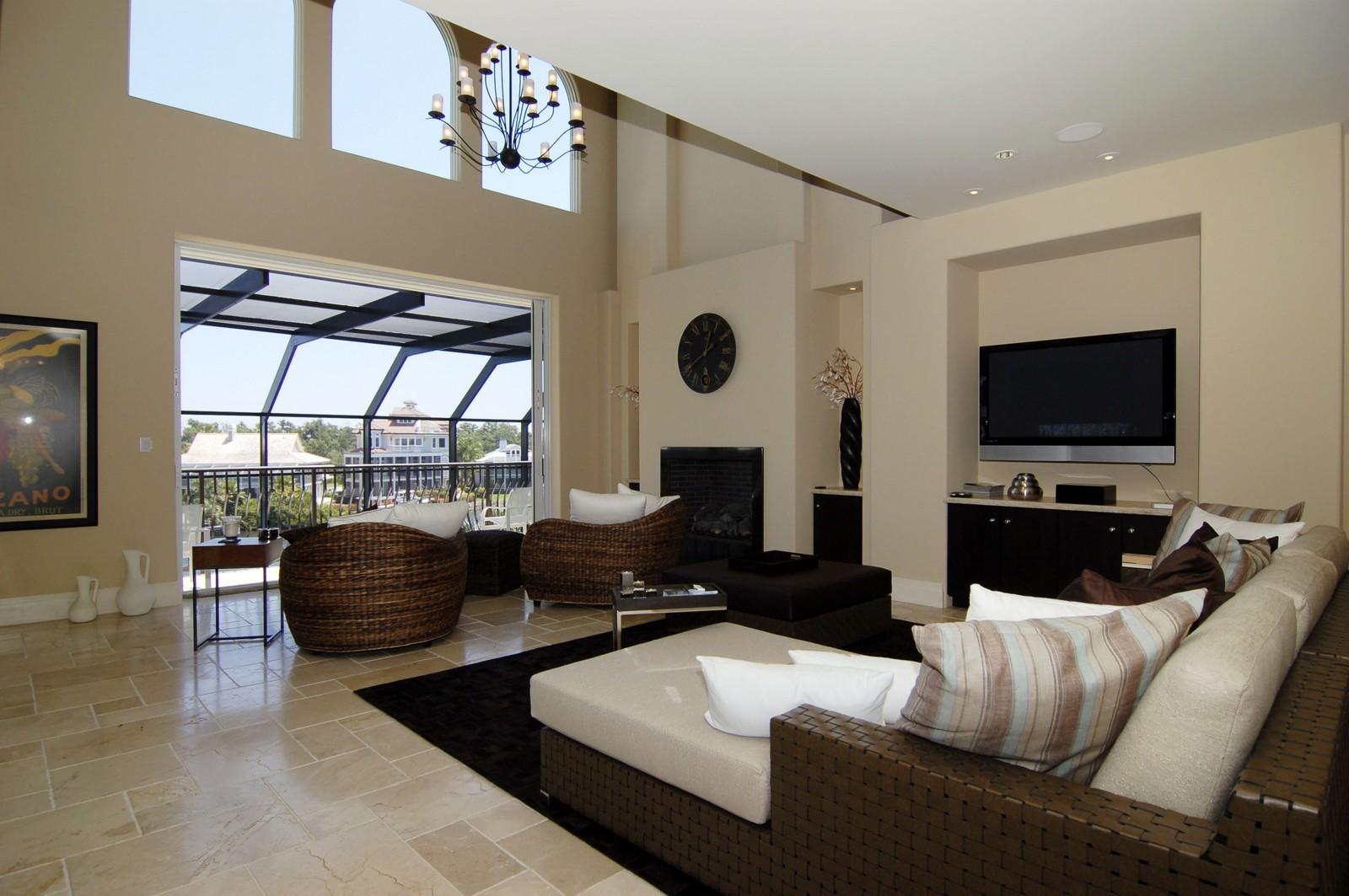 Real Estate Photography - 222 Barefoot Beach Blvd, Bonita Springs, FL, 34134 - Living Room