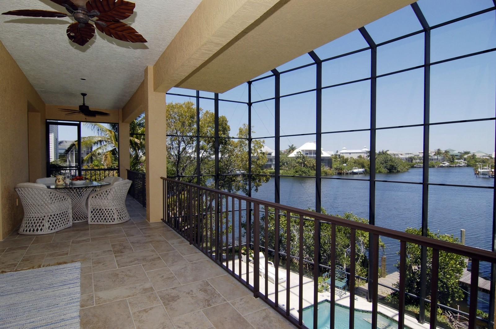 Real Estate Photography - 222 Barefoot Beach Blvd, Bonita Springs, FL, 34134 - Terrace
