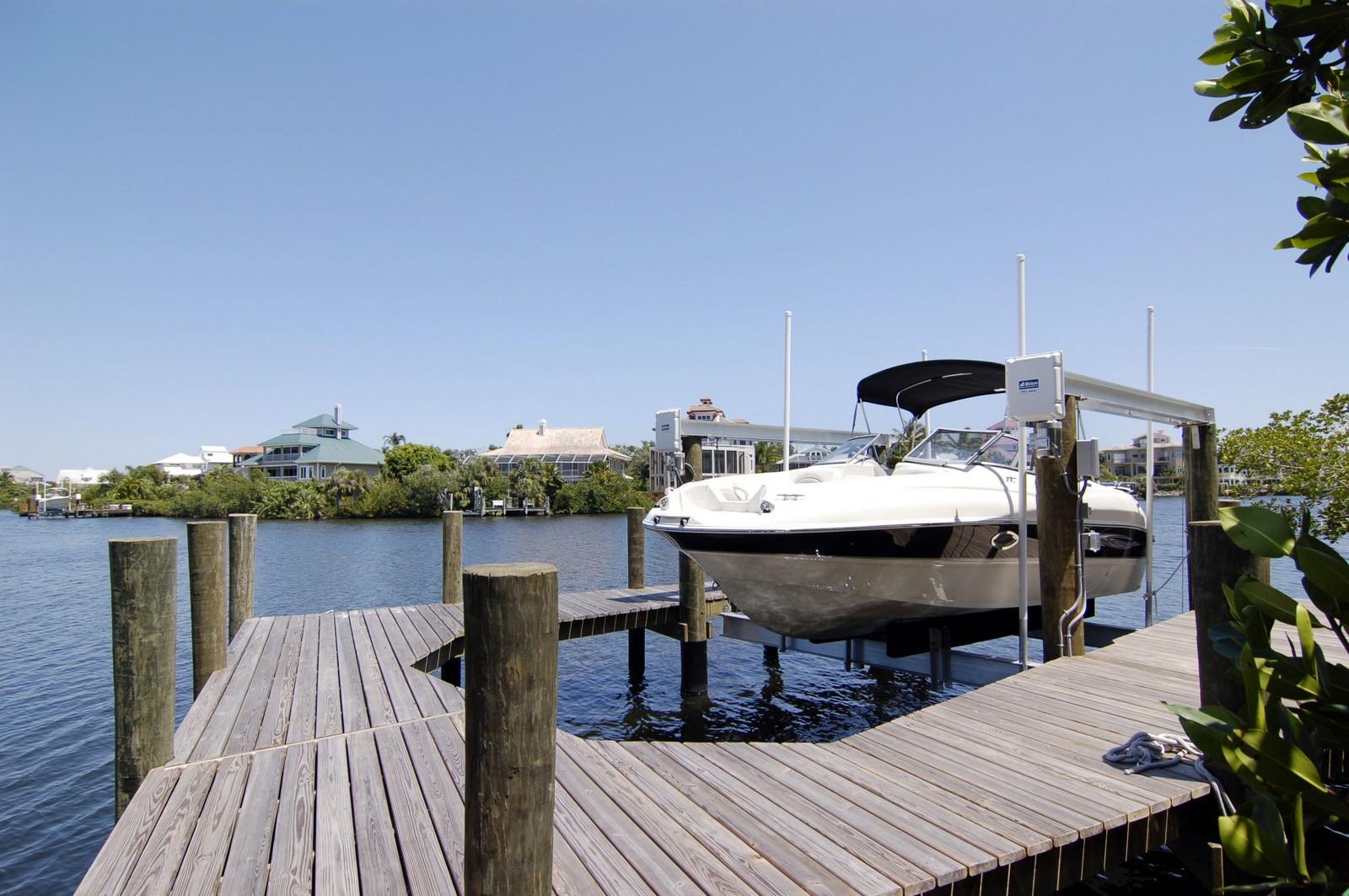 Real Estate Photography - 222 Barefoot Beach Blvd, Bonita Springs, FL, 34134 - Dock