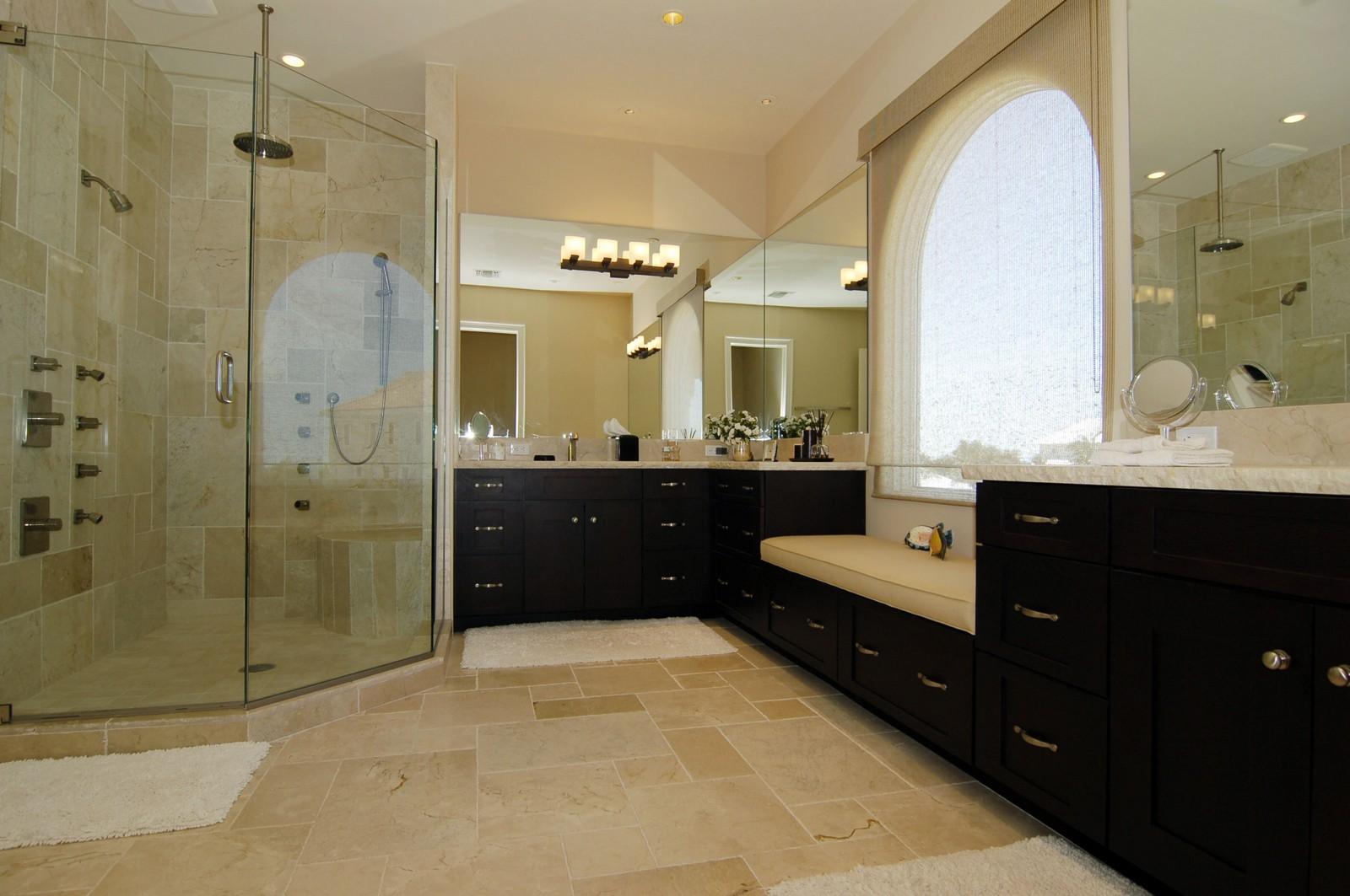 Real Estate Photography - 222 Barefoot Beach Blvd, Bonita Springs, FL, 34134 - Master Bathroom