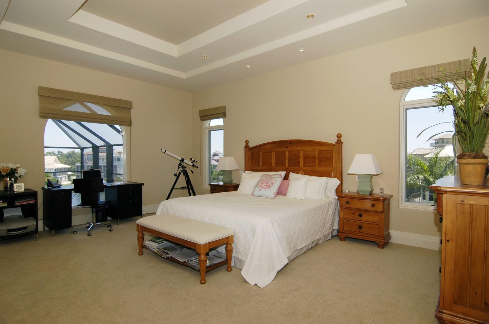 Real Estate Photography - 222 Barefoot Beach Blvd, Bonita Springs, FL, 34134 - Master Bedroom
