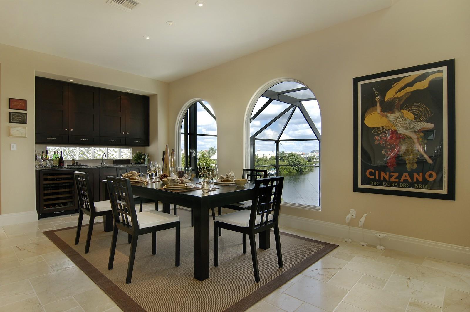 Real Estate Photography - 222 Barefoot Beach Blvd, Bonita Springs, FL, 34134 - Dining Room