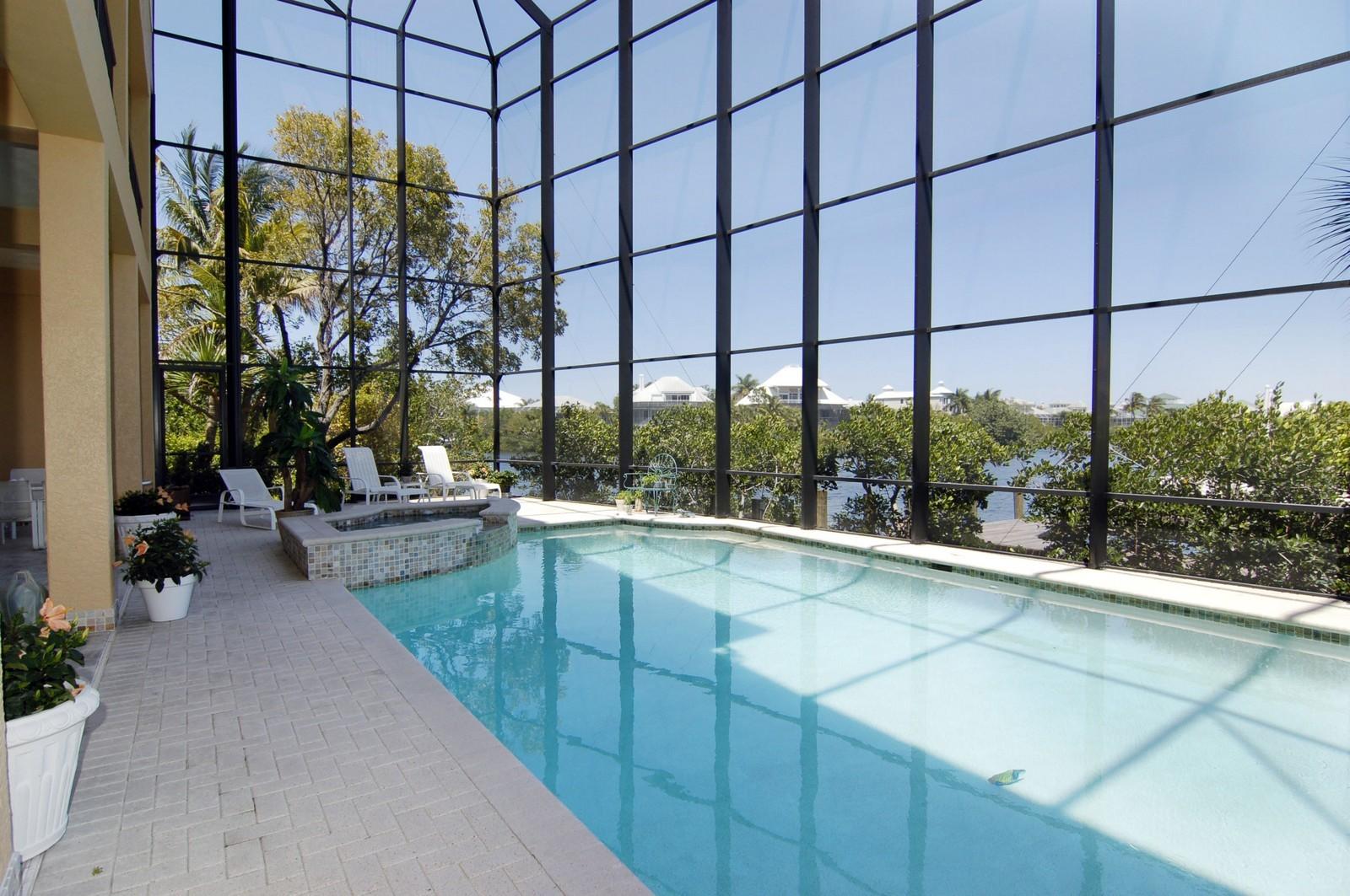 Real Estate Photography - 222 Barefoot Beach Blvd, Bonita Springs, FL, 34134 - Pool