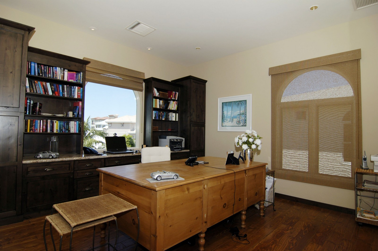 Real Estate Photography - 222 Barefoot Beach Blvd, Bonita Springs, FL, 34134 - Office