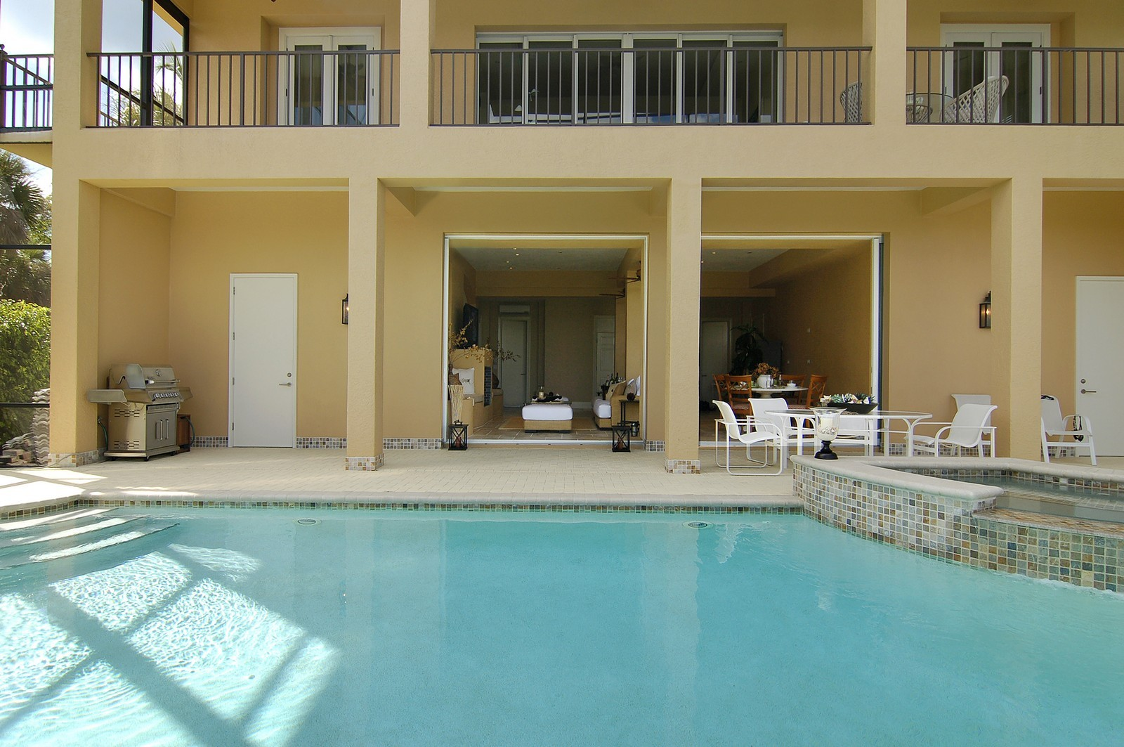 Real Estate Photography - 222 Barefoot Beach Blvd, Bonita Springs, FL, 34134 - Rear View