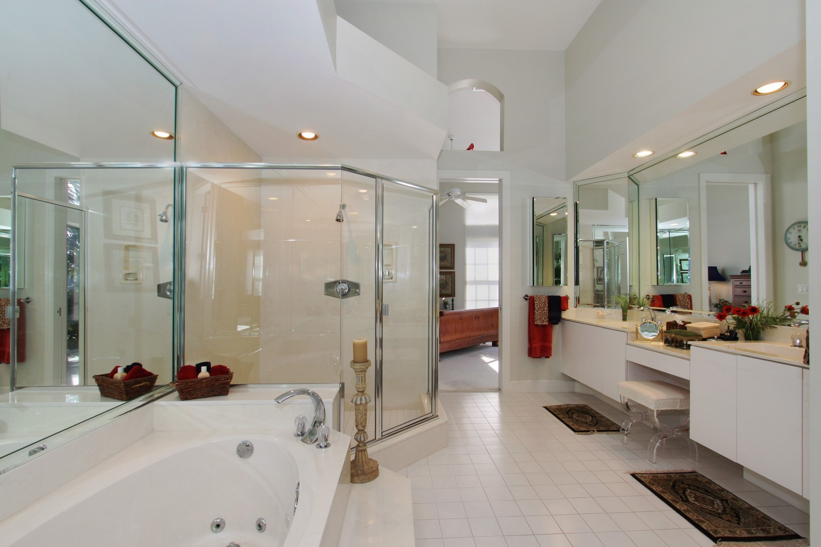Real Estate Photography - 6930 SE Lakeview Ter, Stuart, FL, 34996 - Master Bathroom