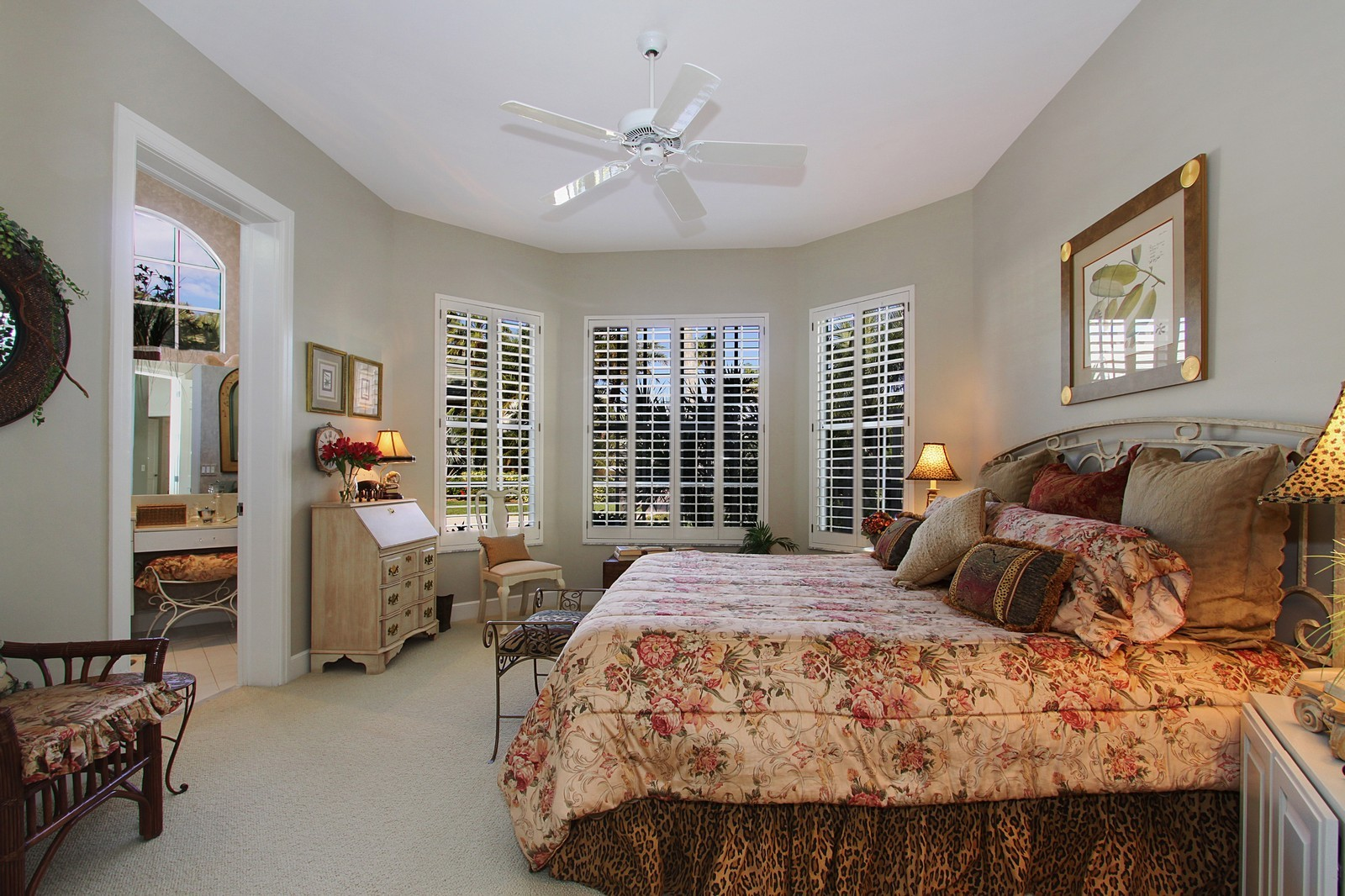 Real Estate Photography - 6930 SE Lakeview Ter, Stuart, FL, 34996 - Bedroom