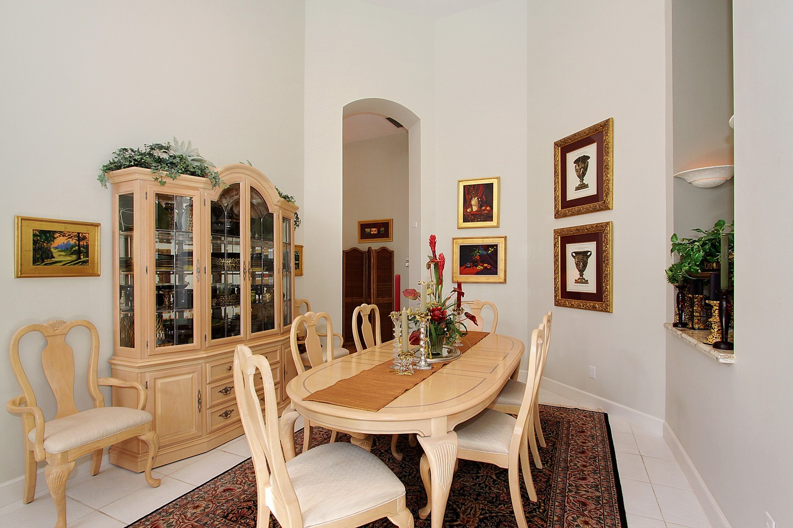 Real Estate Photography - 6930 SE Lakeview Ter, Stuart, FL, 34996 - Dining Room