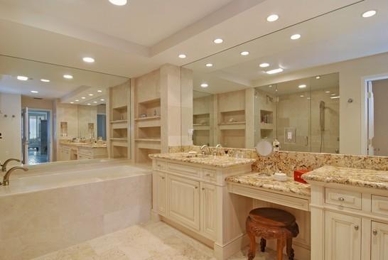 Real Estate Photography - 2001 SE Sailfish Blvd, Unit 116, Stuart, FL, 34496 - Master Bathroom