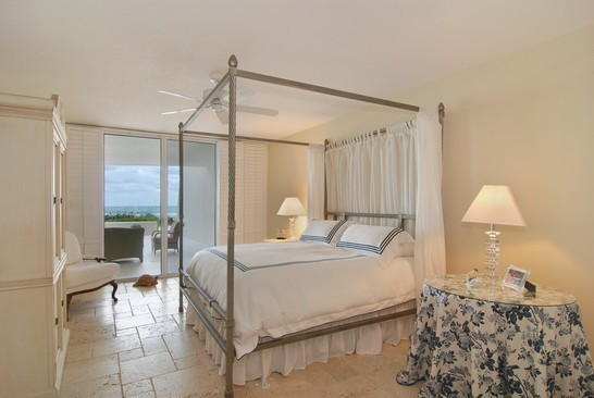 Real Estate Photography - 2001 SE Sailfish Blvd, Unit 116, Stuart, FL, 34496 - Master Bedroom