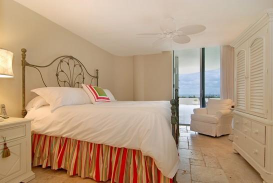 Real Estate Photography - 2001 SE Sailfish Blvd, Unit 116, Stuart, FL, 34496 - Bedroom
