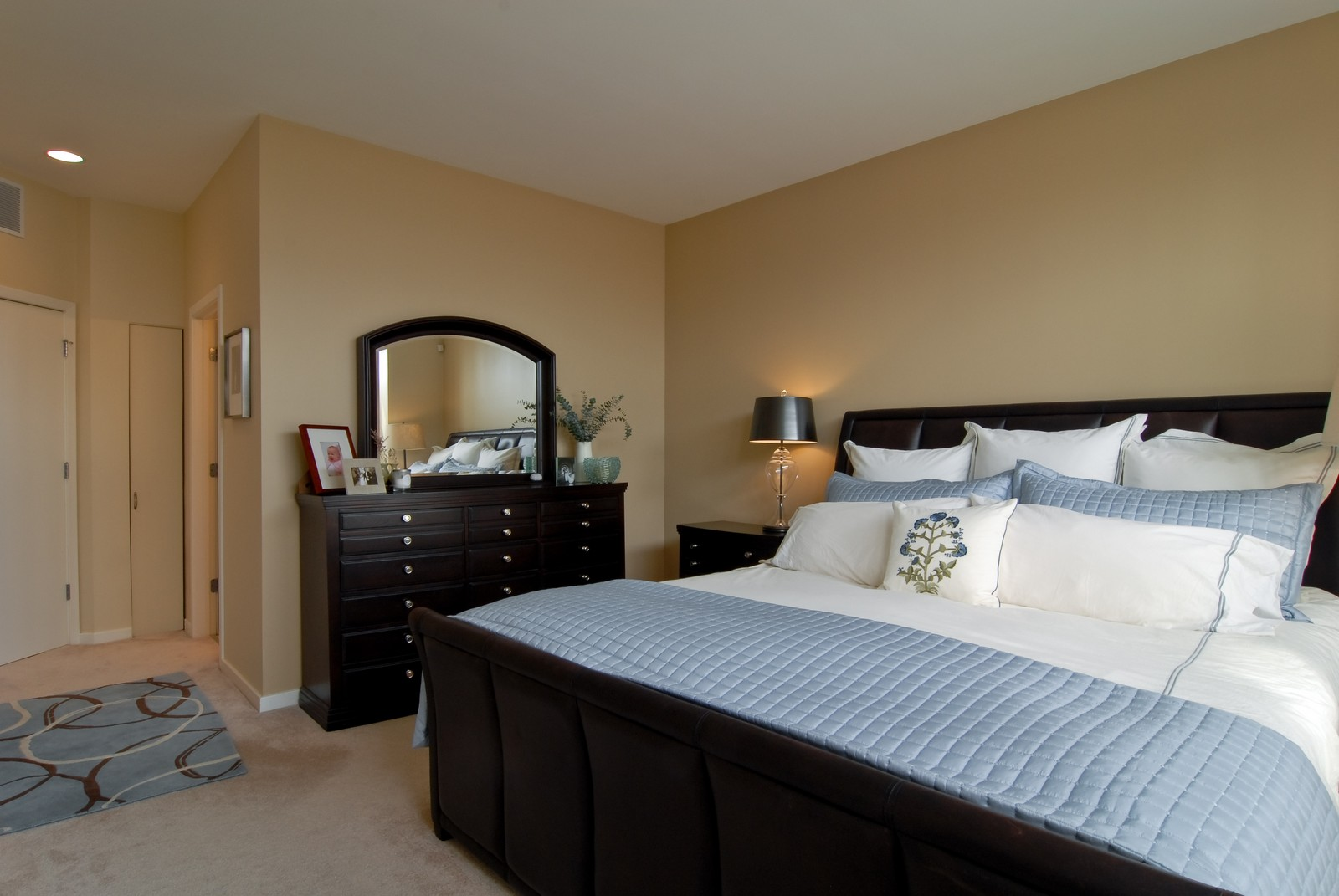 Real Estate Photography - 1413 W Grand, B, Chicago, IL, 60642 - Master Bedroom