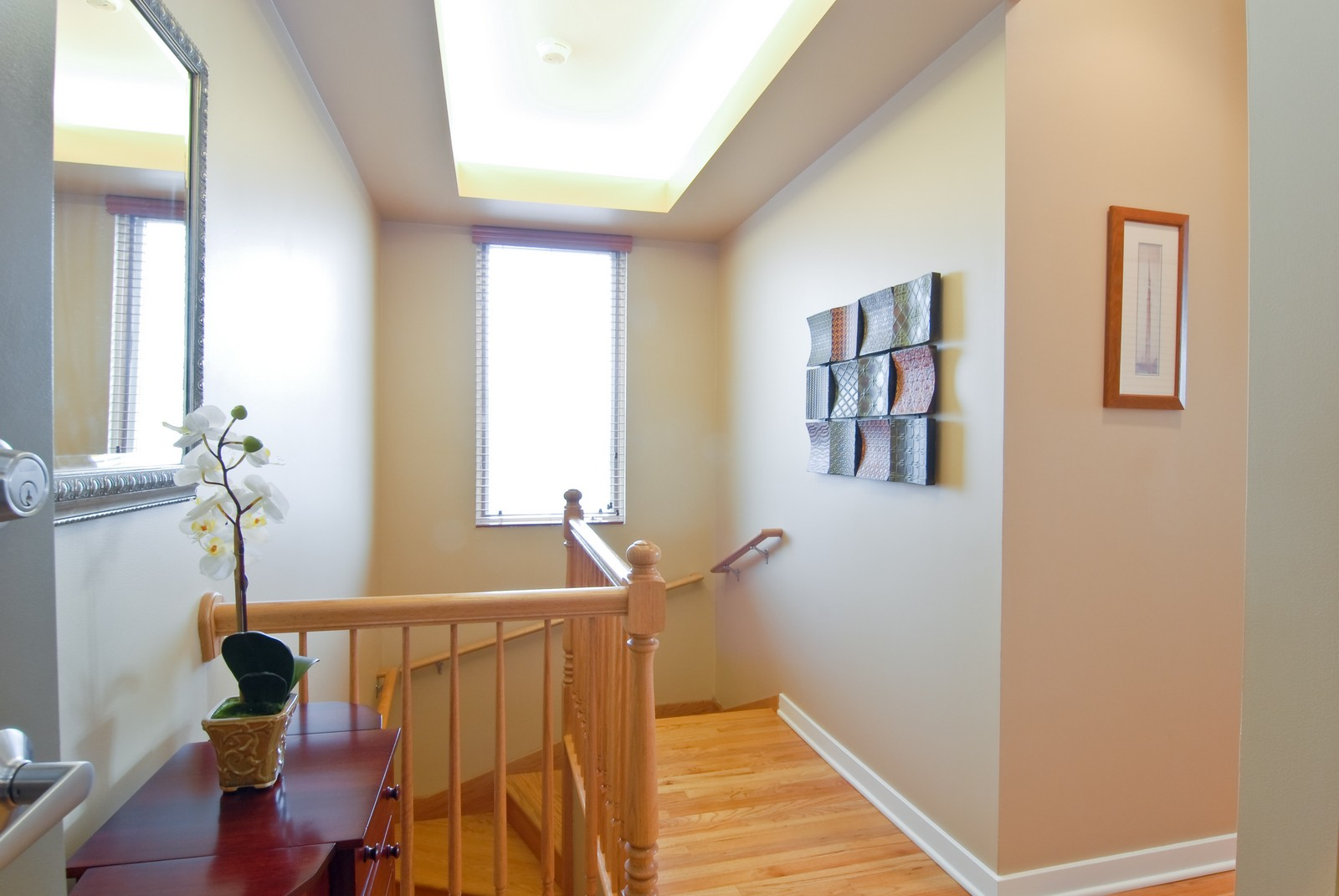 Real Estate Photography - 1413 W Grand, B, Chicago, IL, 60642 - Foyer