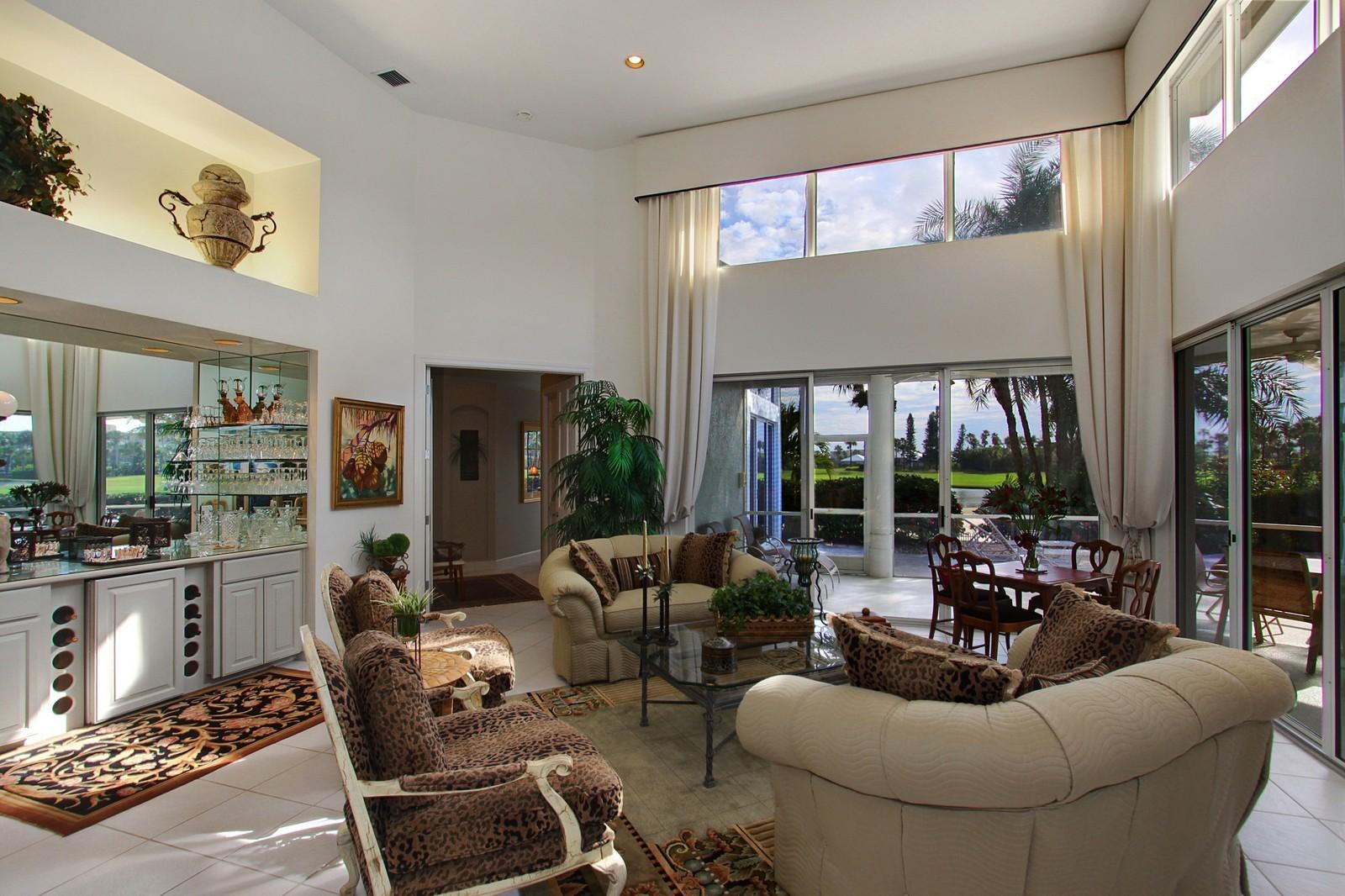 Real Estate Photography - 6930 SE Lakeview Ter, Stuart, FL, 34996 - Living Room