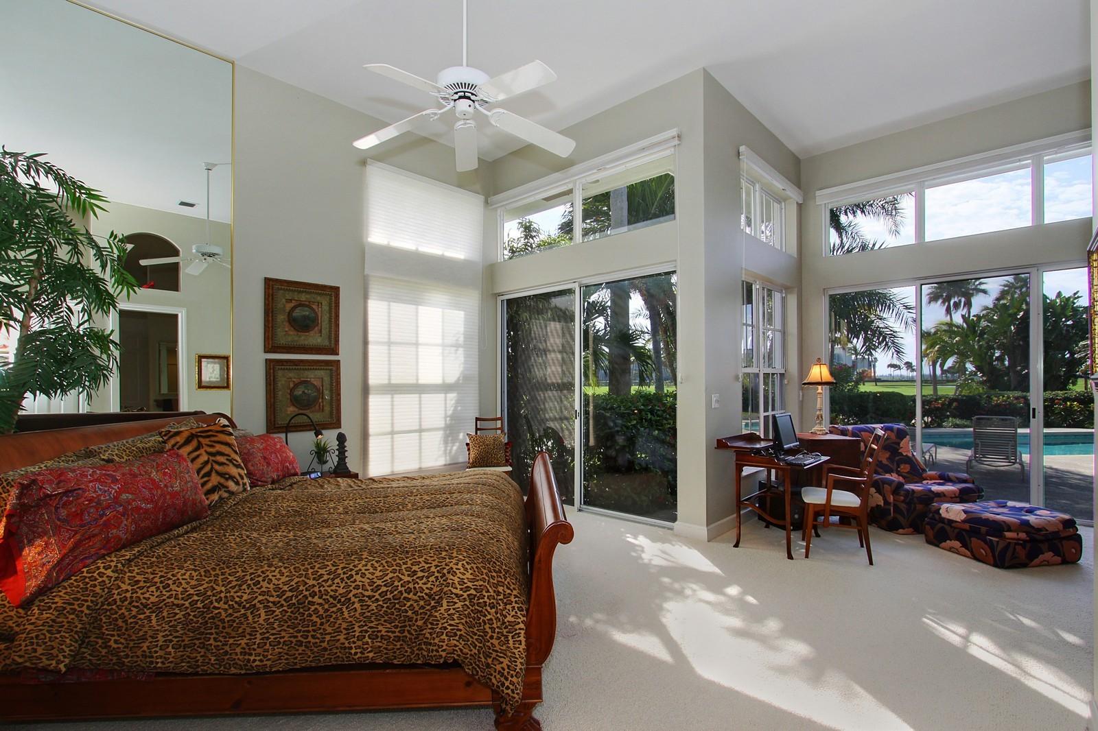 Real Estate Photography - 6930 SE Lakeview Ter, Stuart, FL, 34996 - Master Bedroom