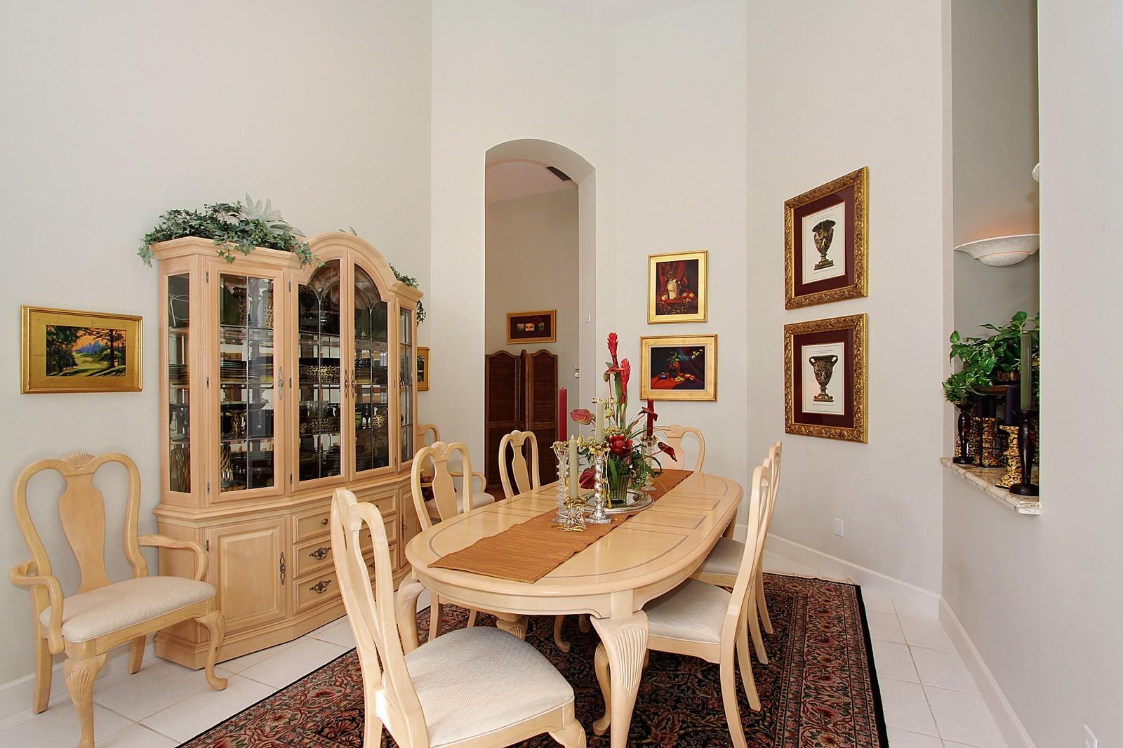 Real Estate Photography - 6930 SE Lakeview Ter, Stuart, FL, 34996 - Dining Room