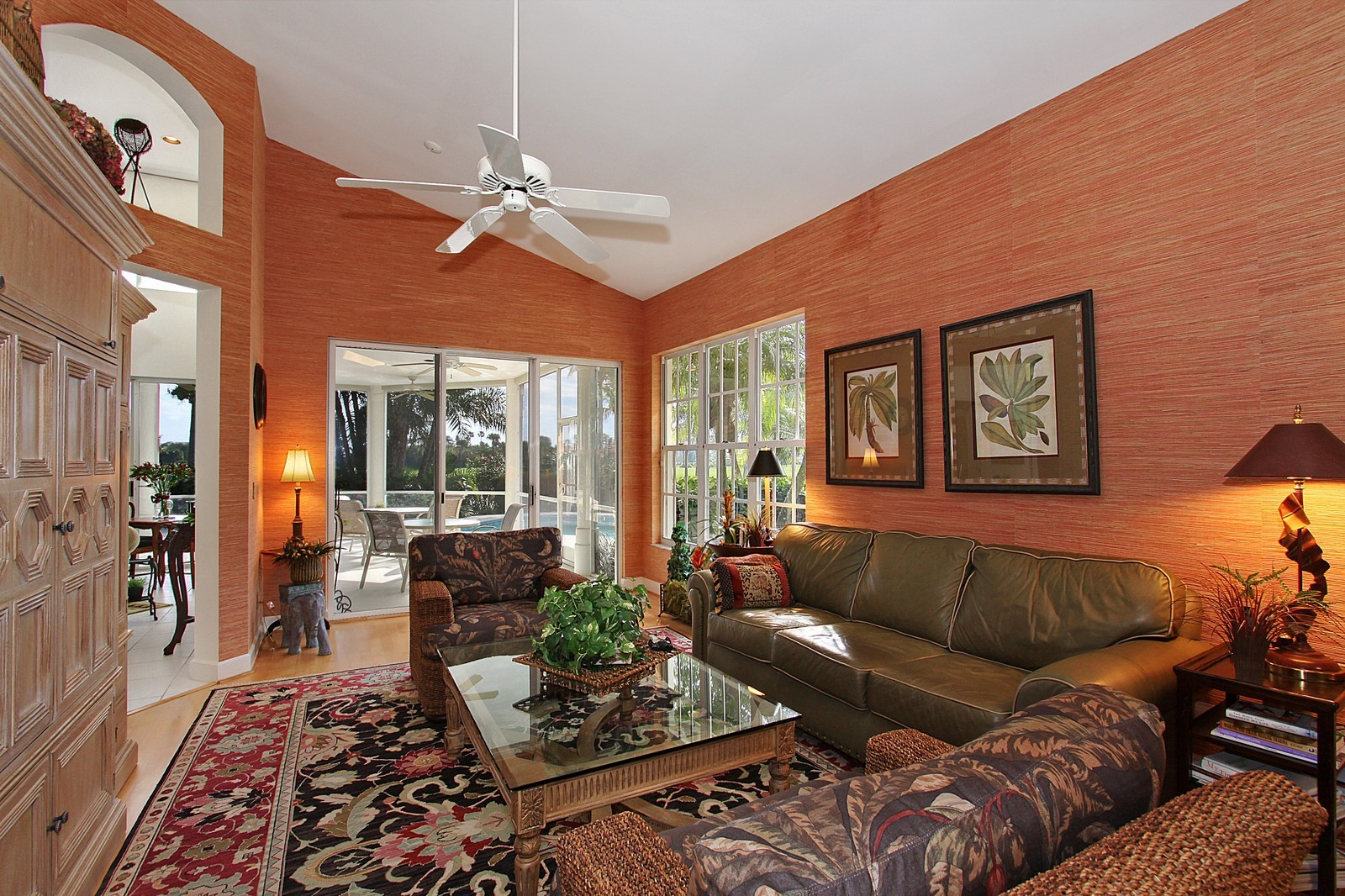 Real Estate Photography - 6930 SE Lakeview Ter, Stuart, FL, 34996 - Family Room