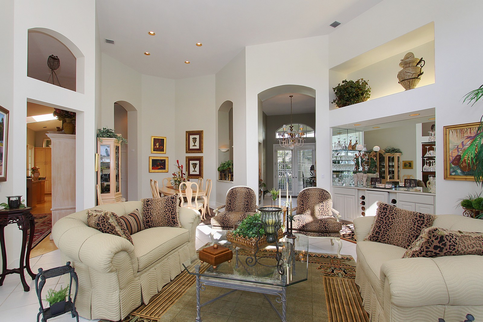 Real Estate Photography - 6930 SE Lakeview Ter, Stuart, FL, 34996 - Living Room / Dining Room