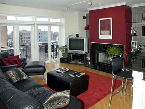 Real Estate Photography - 2358 W Bloomingdale, Unit 4W, Chicago, IL, 60647 - Living Room