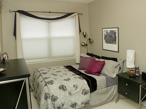 Real Estate Photography - 2358 W Bloomingdale, Unit 4W, Chicago, IL, 60647 - 2nd Bedroom