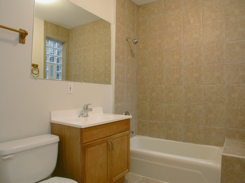 Real Estate Photography - 5484 S Everett, Chicago, IL, 60615 - Bathroom