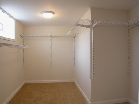 Real Estate Photography - 14637 S Kimbark, Dolton, IL, 60419 - Master Bedroom Closet