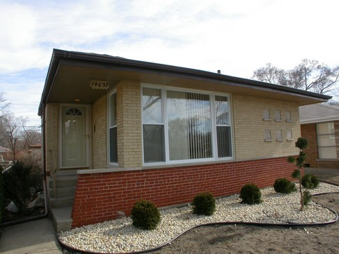 Real Estate Photography - 14637 S Kimbark, Dolton, IL, 60419 - Front View