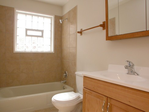Real Estate Photography - 14637 S Kimbark, Dolton, IL, 60419 - Bathroom