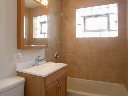 Real Estate Photography - 14229 Dobson, Dalton, IL, 60419 - Bathroom