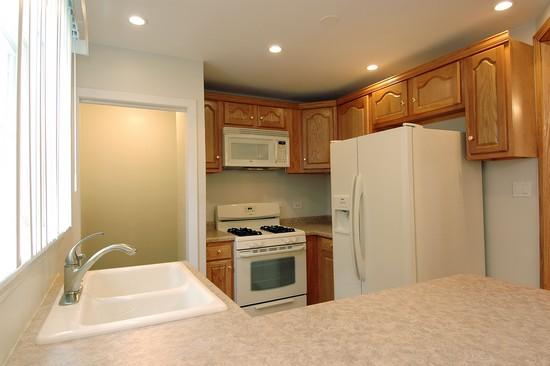 Real Estate Photography - 14228 S Avalon, Dolton, IL, 60419 - Kitchen