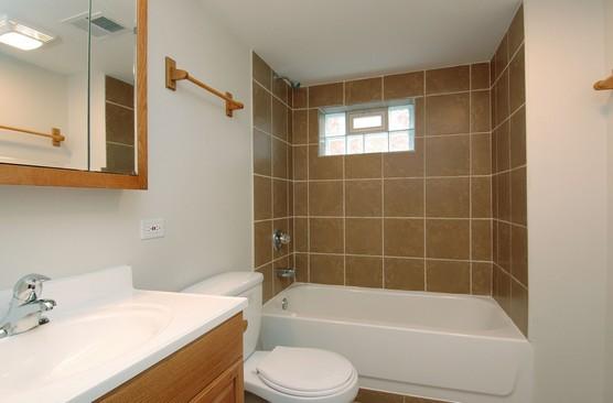 Real Estate Photography - 14228 S Avalon, Dolton, IL, 60419 - Bathroom