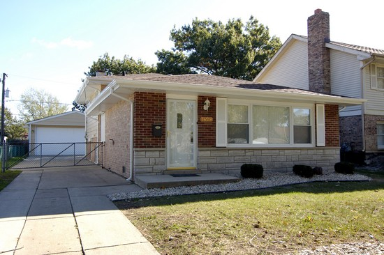 Real Estate Photography - 14519 Sanderson, Dolton, IL, 60419 - Front View